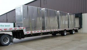 Sound Enclosures on Flatbed